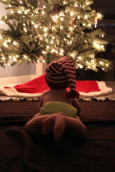 Ideias fotos bebe natal 2