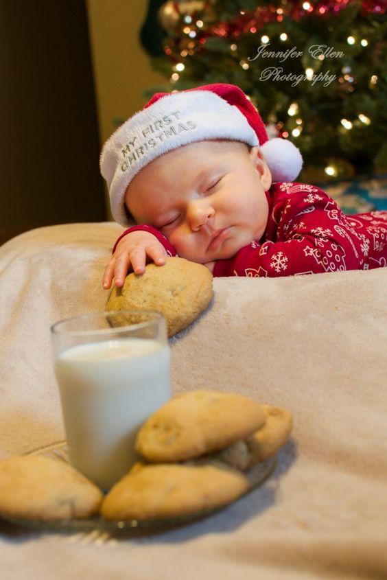Ideias fotos bebe natal 3