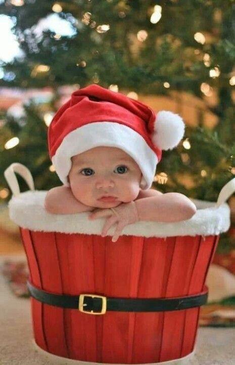 Ideias fotos bebe natal 4