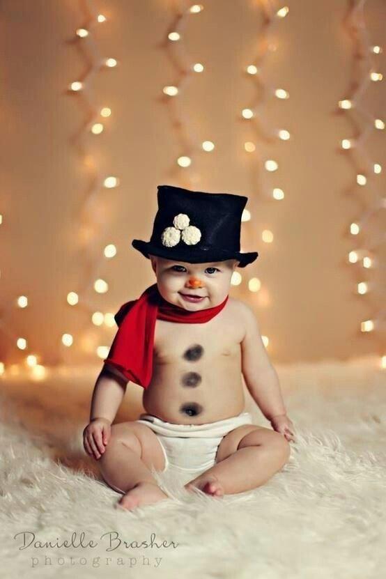 Ideias fotos bebe natal 5