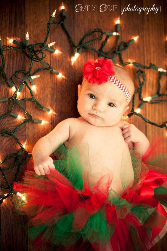 Ideias fotos bebe natal 6