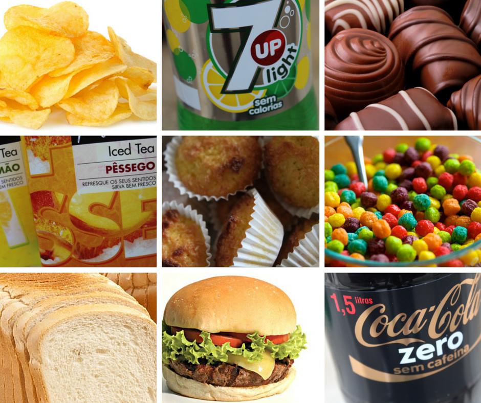 alimentos proibidos para crianças
