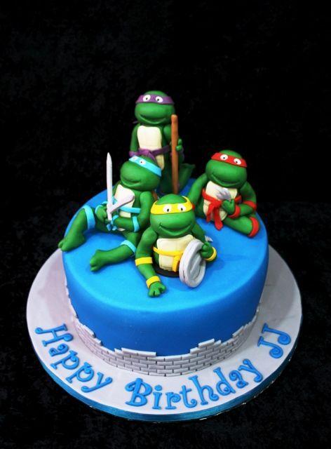 bolo tartarugas ninja