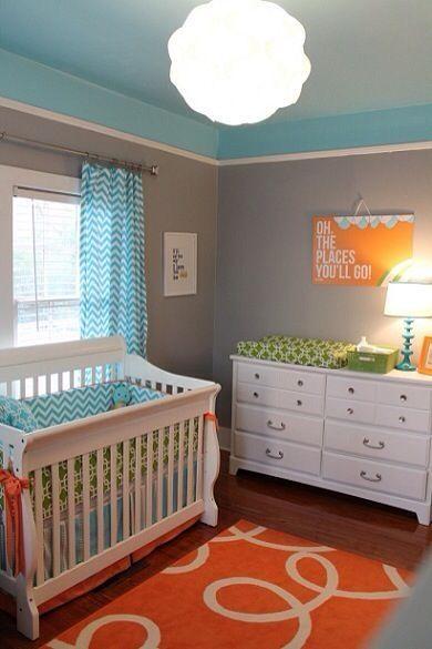 decoraçao quarto bebe colorido