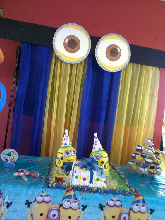 festa infantil menino minions