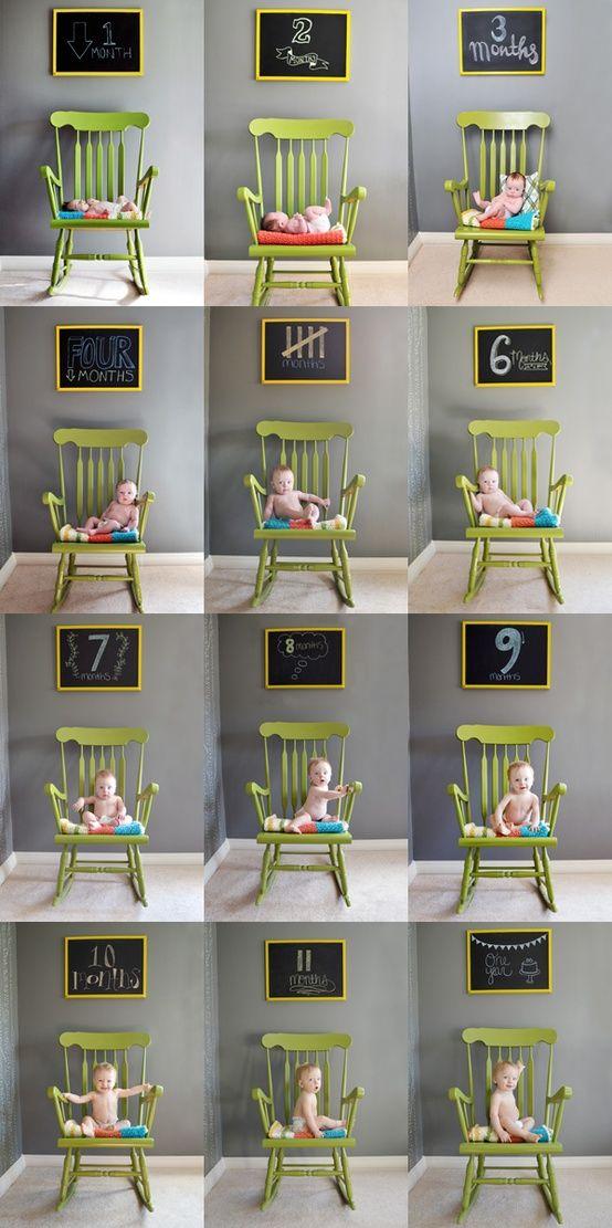 fotografias 1 ano bebe