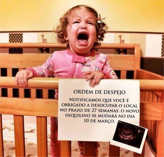 ideias criativas anunciar gravidez 1