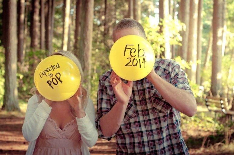 ideias criativas anunciar gravidez 2