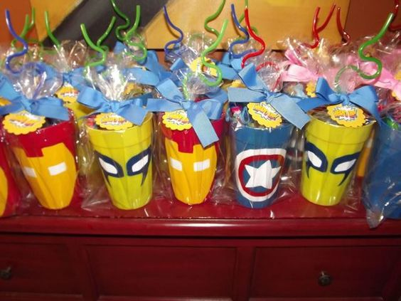 ideias festa super herois