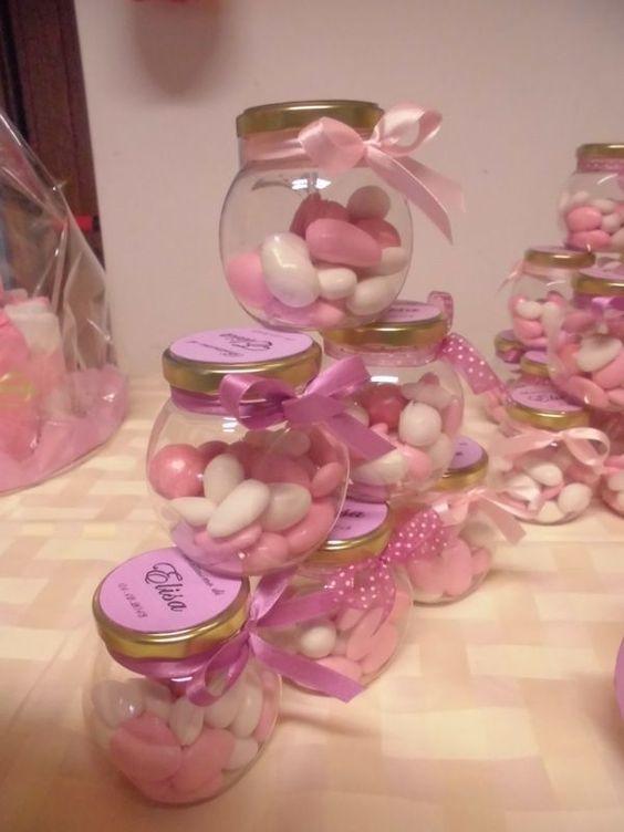 lembrancinha maternidade frasco amendoas