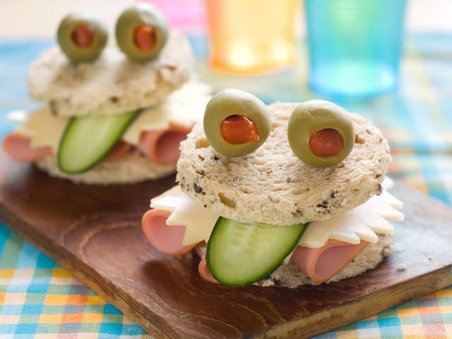 sanduiches saudaveis festa criança