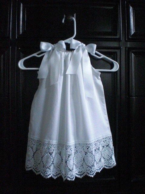vestido almofada menina