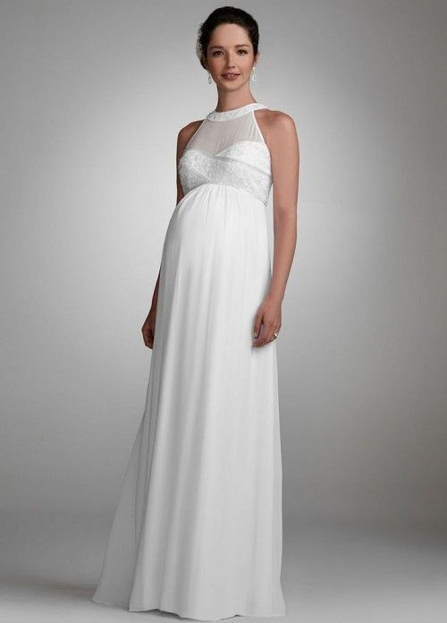 vestido noiva gravida